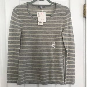 COPY - Classic striped cashmere sweater